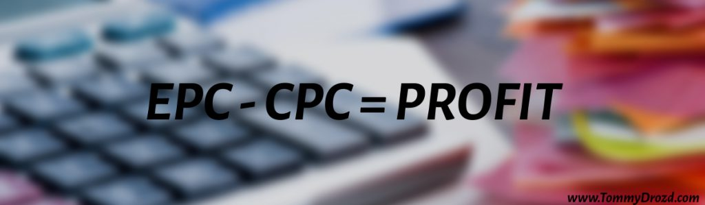 How to calculate earnings per click in affiliate marketing